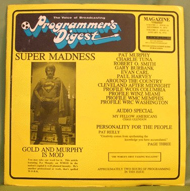PROGRAMMER'S DIGEST 2xLP DOUBLE ISSUE 13 AND 14 1973/1974