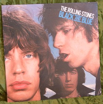 ROLLING STONES LP Black & Blue 1976