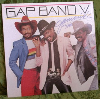 GAP BAND LP V LP JAMMIN' 1983 Funk PARTY TRAIN