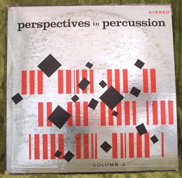 SKIP MARTIN Perspectives in Percussion v2 LP LOUNGE