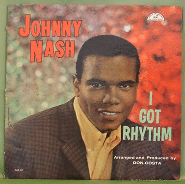 LOUNGE LP Johnny Nash I GOT RHYTHM 1959