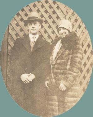 Vintage Photo Cloche Hat and Fur Coat BROAD AS LONG