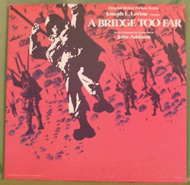 A BRIDGE TOO FAR Soundtrack LP John Addison