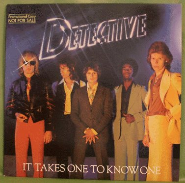 DETECTIVE LP It Takes one To Know One 1977 Michael Des Barres