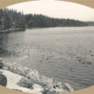 Vintage Postcard SAWYER Woahink Lake OREGON RP Photo