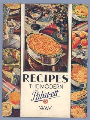Vintage PABST-ETT CHEESE Recipe Booklet COOKBOOK 1931