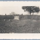 Vintage Photo THOMAS & LUCY KIDD TOMBSTONE 1940s