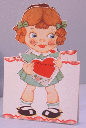Vintage Valentine STAND-UP 1930 WHY NOT GIVE ME A BREAK