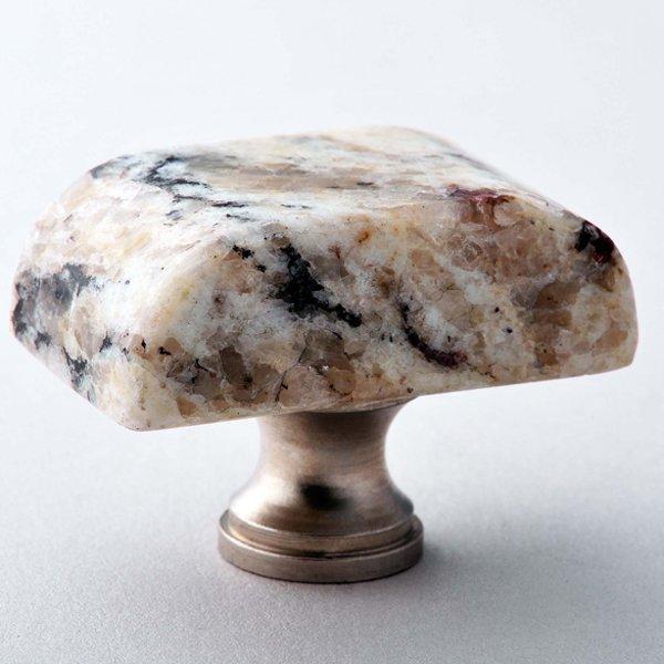 Giallo Ornamental Block Granite Knob