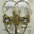 Vintage Inspired Hoop Earrings