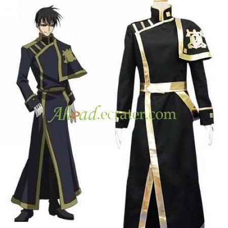 07-Ghost Barsburg Empire Uniform Cosplay Costume