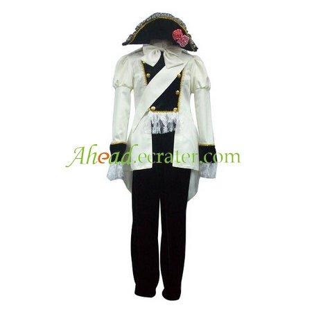 Axis Powers Austria Uniform Cosplay Costume