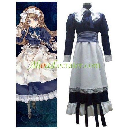 Axis Powers Byelorussia Natasha Alfroskaya Cosplay Costume