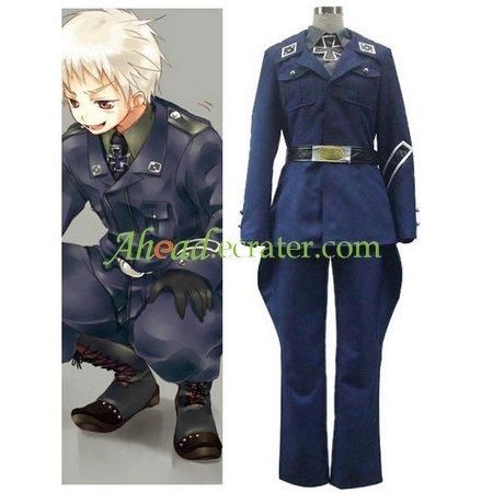 Axis Powers Prussia Gilbert Beilschmidt Cosplay Costume