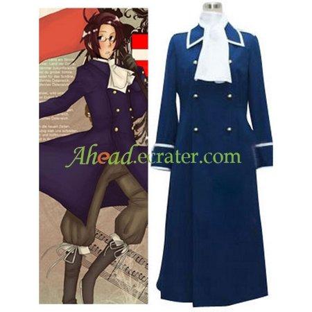 Hetalia Axis Powers Austria Cosplay Costume