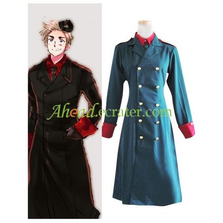 Hetalia Axis Powers Denmark Cosplay Costume