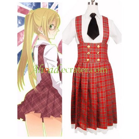 Hetalia Axis Powers Gakuen School Uniform Cosplay Costume