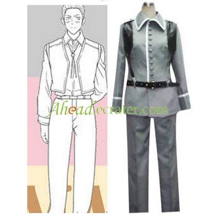 Hetalia Axis Powers Germany Cosplay Costume