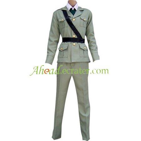 Hetalia Axis Powers Gray England Cosplay Costume
