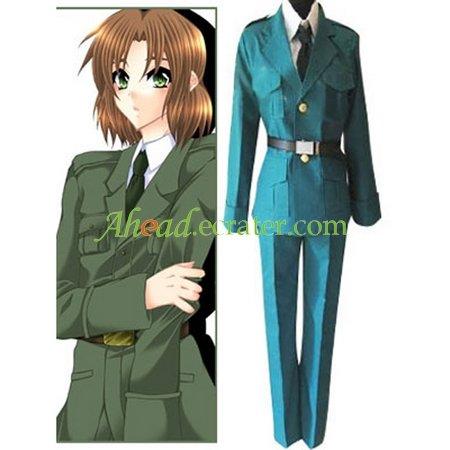 Hetalia Axis Powers Lithuania Cosplay Costume