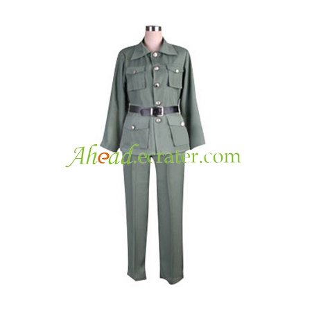 Hetalia Axis Powers Lithuanian Cosplay Costume