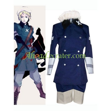 Royal Blue Hetalia Axis Powers Cosplay Costume