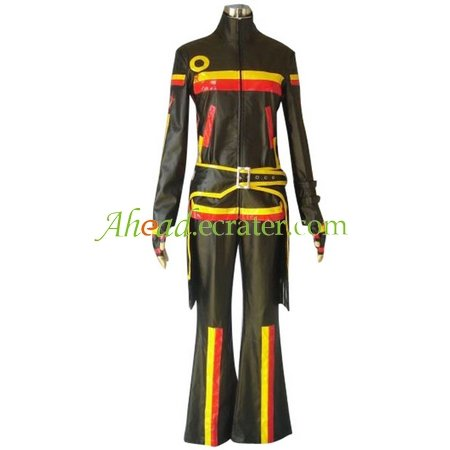 Black And Stripe Beatmania IIDX Cosplay Costume