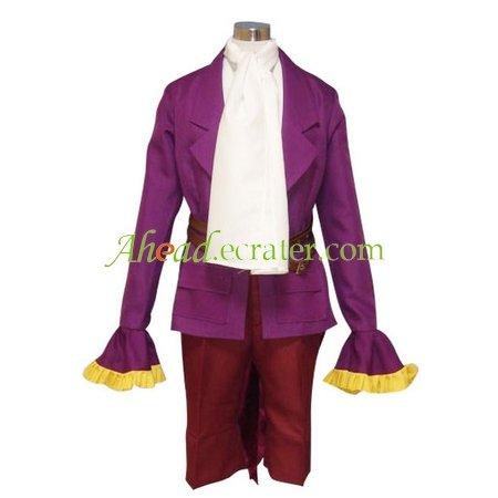 Purple Beatmania IIDX Cosplay Costume