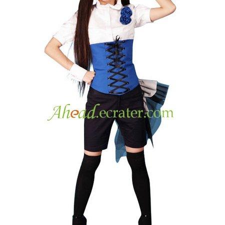 Black Butler Cosplay Costume blue black white