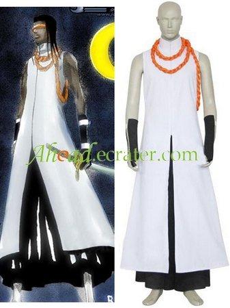 Bleach Kaname Tousen Arrancar Halloween Cosplay Costume