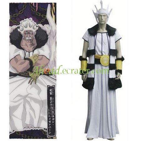 Bleach The Segunda Espada Barragan Luisenbarn Cosplay Costume