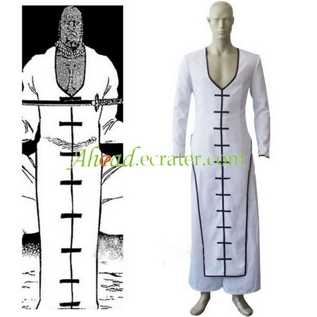 Bleach The Septima Espada Zommari Leroux Cosplay Costume