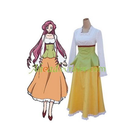 Code Geass Lelouch of the Rebellion Euphemia Casual Cosplay Costume