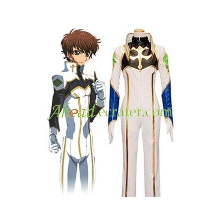 Code Geass Suzaku Cosplay Costume
