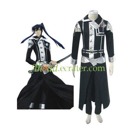 D.Gray-man Kanda Yuu Cosplay Costumes