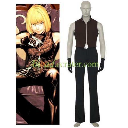 Death Note Mello Cosplay Costume 2