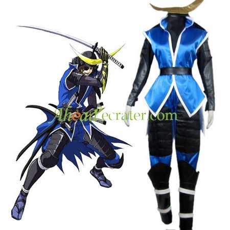 Devil Kings Date Masamune Cosplay Costume