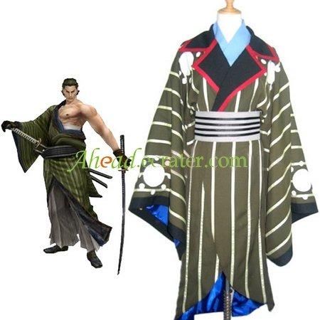 Sengoku Basara 2 Katakura Kojyuurou Cosplay Costume