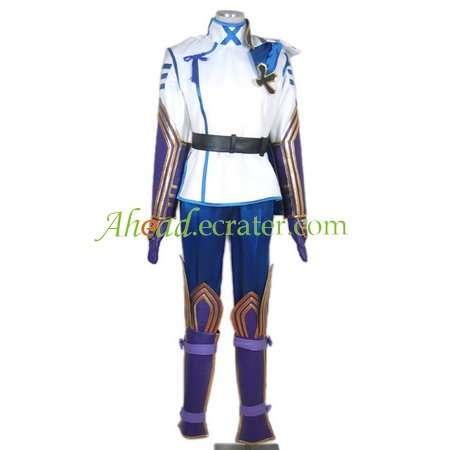 Sengoku Basara II Takenaka Hanbei Cosplay Costume