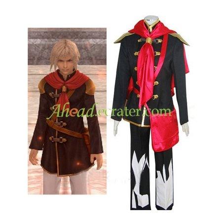 Final Fantasy Agito XIII Male Uniform Halloween Cosplay Costume