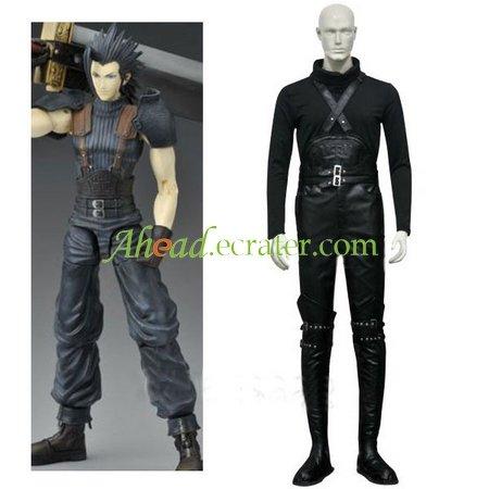 Final Fantasy VII Crisis Core Zack Fair Cosplay Costume
