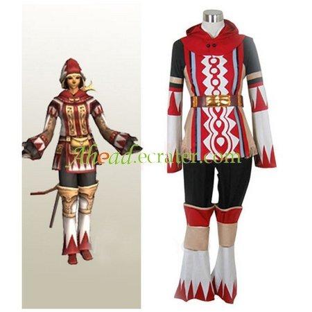 Final Fantasy XI 11 White Mage Halloween Cosplay Costume