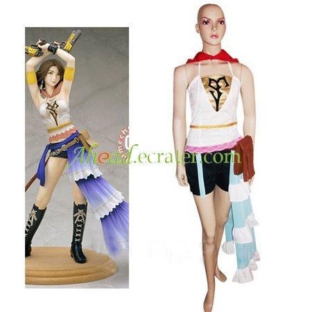 Final Fantasy Xii Yuna Cosplay Costume