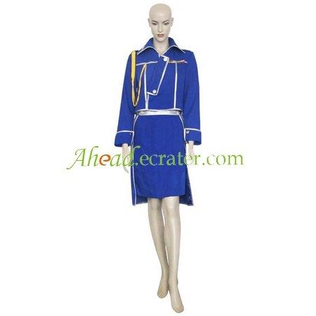 FullMetal Alchemist Winry Rockbell Military Halloween Cosplay Costume