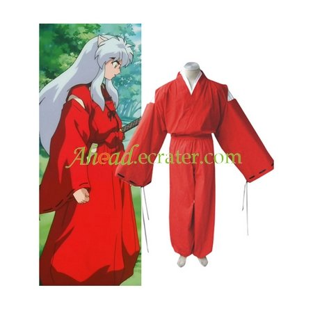 InuYasha Feudal Fairy Tale InuYasha Cosplay Costume