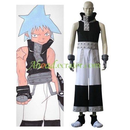Soul Eater Black Star Cosplay Costume