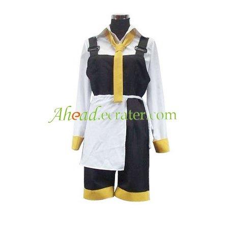 Da Capo Yellow And White Cosplay Costume