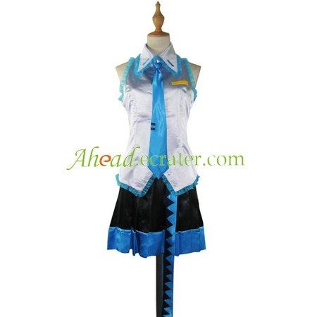 Vocaloid Crypton Halloween Cosplay Costume