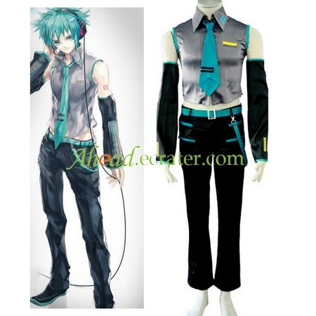 Vocaloid Hatsune Mikuo Halloween Cosplay Costume