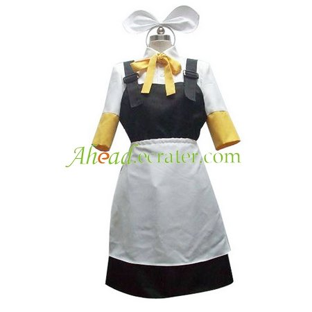 Vocaloid Kagamine Rin Cosplay Costume 2